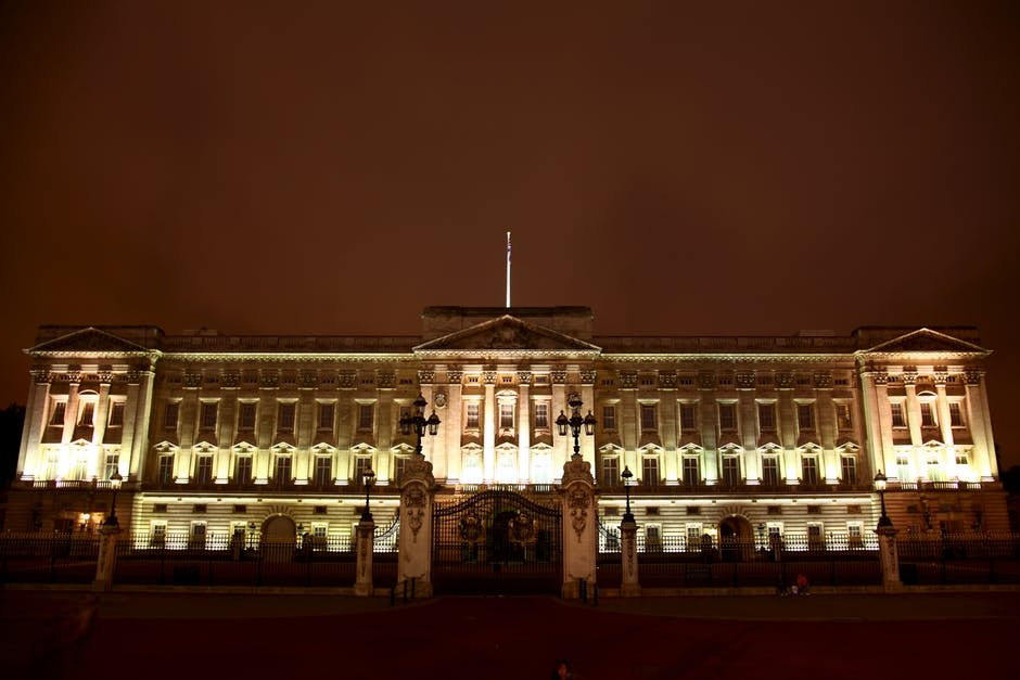 Buckingham Palace during the Night