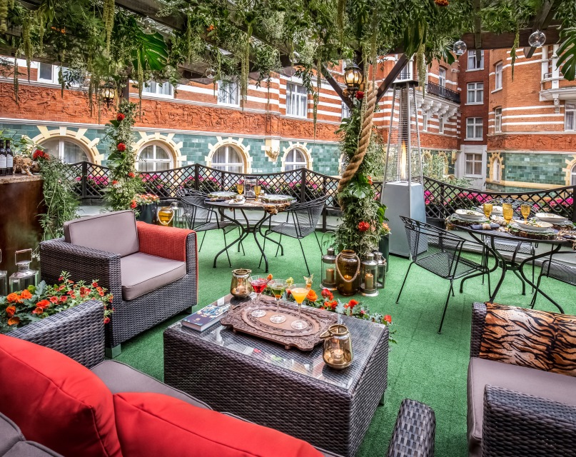The Rooftop Terrace at St. James' Court
