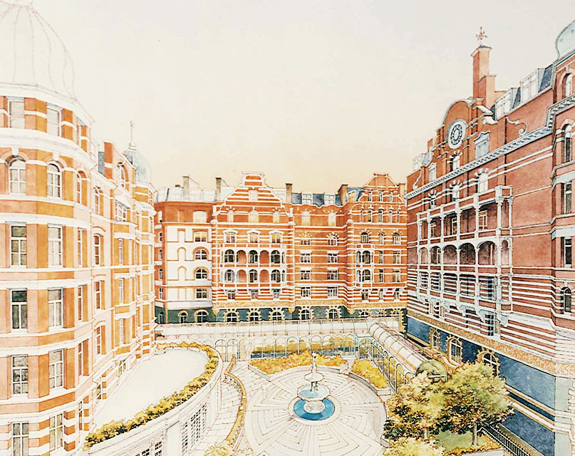 heritage victorian hotel london st james court hotel